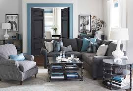 sectional living room. alex l-shaped sectional living room by bassett furniture contemporary-living -room u