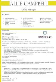 Sample Office Manager Resume Best of Sample Resume For Administrative Assistant Office Manager Also Here