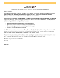 Marketing Job Resume Cover Letter For Marketing Job Example Cover Letter Resume 22