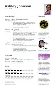 Maintenance Engineer Resume Samples Visualcv Resume Samples Database