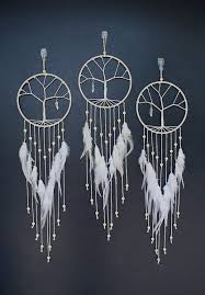 Dream Catcher Feather Meanings Bohemian Tree of Life Dream Catcher Morning Star native 54