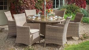 hartman hartman madison 6 seat round garden furniture set rattan garden furniture the garden furniture company