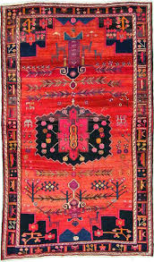 elegant home chic raleigh persian rug bright colored rug pink and orange bright