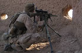 Marine Scout Snipers Use Murder Holes In Afghanistan