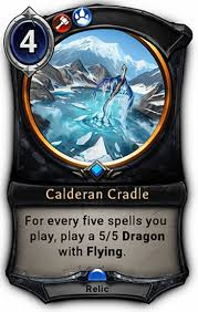 نتيجة بحث الصور عن eternal ccg calderan cradle