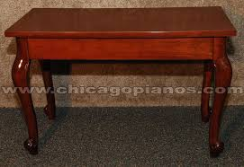 cherry piano bench piano bench bench plans diy