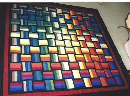 65 best BASKET WEAVE QUILTING images on Pinterest | Quilt patterns ... & basket weave rainbow quilt Adamdwight.com