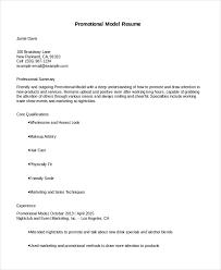 Model Resume Good Model Resume Sample Best Sample Resume Template