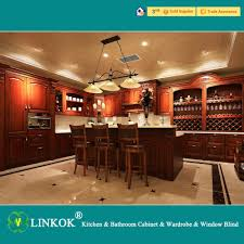 Made In China Kitchen Cabinets Aliexpresscom Buy Linkok Furniture Dark Brown Solid Wood