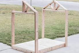 how to build a diy doghouse gazebo dogzebo with free plans