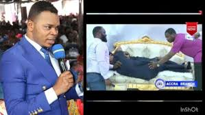 Image result for Pastor Obinim Sleeping With A Woman
