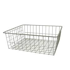 closetmaid 17 in x 7 5 in nickel ventilated wire drawer