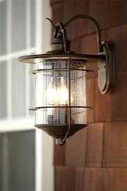 rustic exterior lights iron works 1 4 high outdoor light lamps plus outside wall