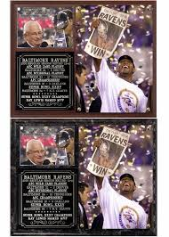 baltimore ravens super bowl xv chions nfl photo plaque ray lewis mvp ebay