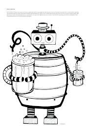 Kleurplaat Robot Gratis Information And Ideas Herz Intakt