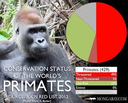 Mongabay Com Conservation Status Of The Worlds Most