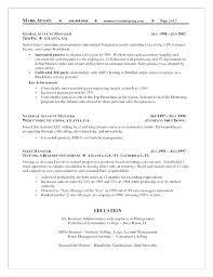 Cv Account Advertising Account Manager Resume Bitacorita
