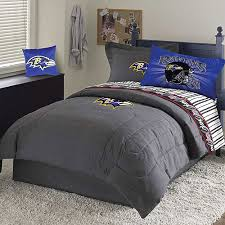baltimore ravens nfl team denim full comforter sheet set ravens blanket throw