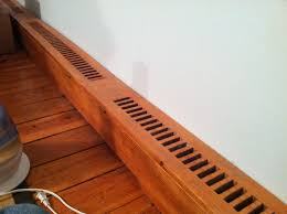 introduction how to make wooden baseboard heater covers