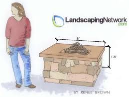 firepit drawing landscaping network calimesa ca what is a fire pit t77