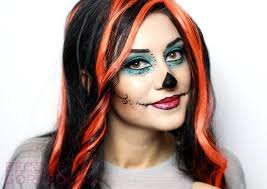 skelita calaveras monster high makeup tutorial for learn how to look like skelita calaveras from monster high following this easy makeup