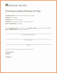 promise to pay agreement invoice example  7 promise to pay agreement