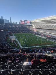 Stubhub Soldier Field Seating Chart Soldier Field Section 325 Row 16 Seat 5 Chicago Bears