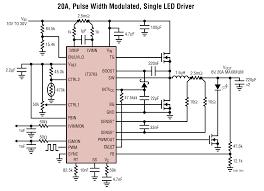 led driver circuit diagram pdf led image wiring lt3763 60v high current step down led driver controller linear on led driver circuit diagram pdf