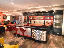 basement bar lighting ideas. Lighting Ideas Basement Bar. Rustic Bar Eclectic With Twig Chandelier Brown Tile