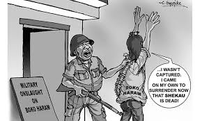 Image result for Nigeria ARMY CARTOON