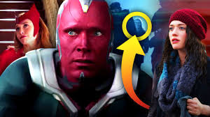(the first trailer shows her zooming through the air, before crashing through some kind of energy barrier and landing on the ground, surrounded by what look like military. Wandavision 12 Easter Eggs Hidden Details In The New Marvel Trailer