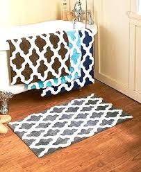 aqua and gray bath rugs rug wonderful bathroom with oversized lattice x soft durable navy chocolate aqua bath towels and rugs