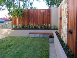 Small Picture Inner city Brisbane courtyard surrounded by Merbau decking screens
