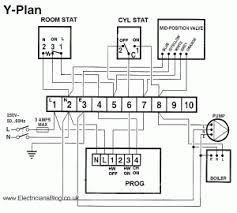 wiring diagram of y plan biflow central heating systems y plan biflow wiring diagram