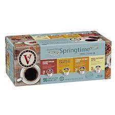 A freshly brewed cup of coffee each morning is one of the few. Victor Allen Springtime Variety Pack Coffee Pods For Single Serve Coffee Makers 96 Count Bed Bath Beyond
