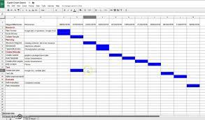 Google Drive Gantt Chart Template Google Sheets Gantt Chart