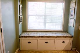window seat furniture. Bay Window Seats With Storage And Shades On Seat Furniture N