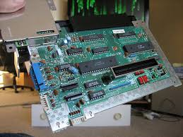 na  mystery pot on underside of nes motherboard to the right of the red parts in the bottom right corner or the board you will see a small round green pot you can stick a screwdriver in it and