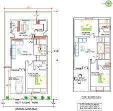 house plans for south facing plots luxury 20 60 house plan with car parking house plans