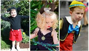 easy diy disney costumes for preschoolers