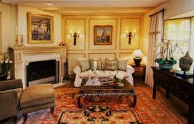 gorgeous english traditional living room design with corner fireplace using classic furniture ideas