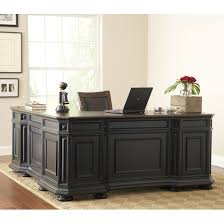 desk magnificent black executive desks hardwood constructio brown wood top l shape traditional style classic office awesome wood office desk classic