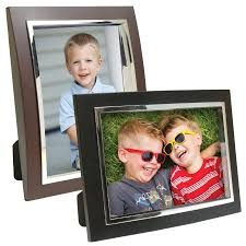 wholesale picture frames  acrylic curved photo frame with silver