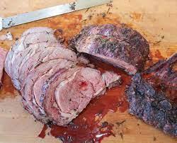 standing rib roast smoked bone in