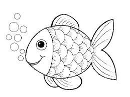 rainbow fish coloring page post colouring template pages free printable