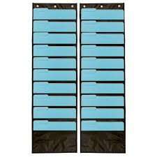 Chair Storage Pocket Chart Pocket Chart Classroom Storage School Supplies Wall Organizer Office Home 2 Pcs
