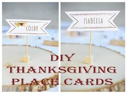 thanksgiving place cards diy thanksgiving table place cards