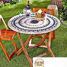 fitted mosaic table cover mosaic tuscan tile design table go round tablecloth patio table cover 4953305 2018 16 15