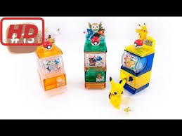 Diy Mini Vending Machine Cool DIY Pokemon Mini Vending Machine With Pikachu Surprise Toys 48 By
