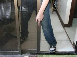 image titled clean and lubricate a sliding glass door step 2